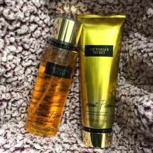 Victoria's Secret Other - VS Coconut Passion Lotion & Mist